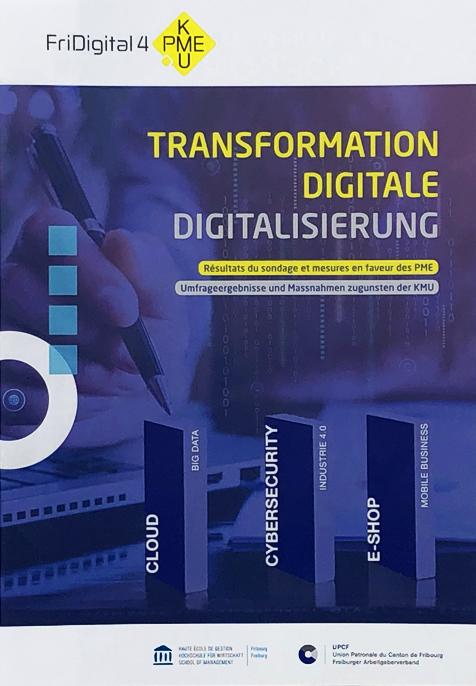"""& HEG-FR - Le sondage """"Transformation digitale"""" mis en scène"""